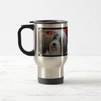 Mug De Voyage Chien mignon de Terrier tibétain