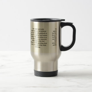 Mug De Voyage citation de Carl Jung