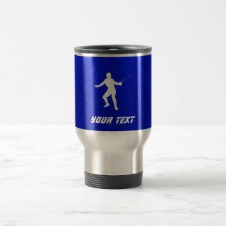 Mug De Voyage Clôture bleue