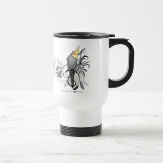 Mug De Voyage Cockatiel gris