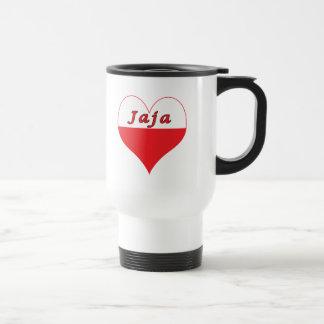 Mug De Voyage Coeur polonais de Jaja