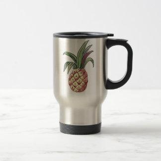 Mug De Voyage Conception d'ananas