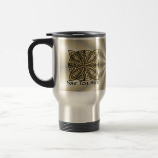 Mug De Voyage Conception originale de noeud celtique d'or