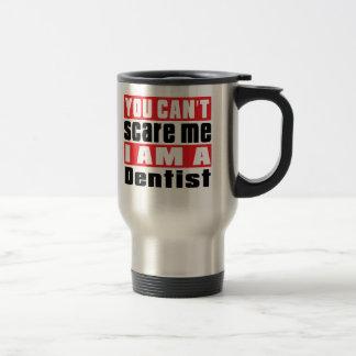 Mug De Voyage Conceptions d'alerte de dentiste