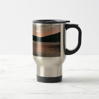 Mug De Voyage Coucher du soleil sur l'eau