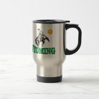 Mug De Voyage Cowboy du Wyoming