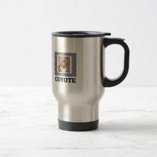Mug De Voyage coyote dans une boîte