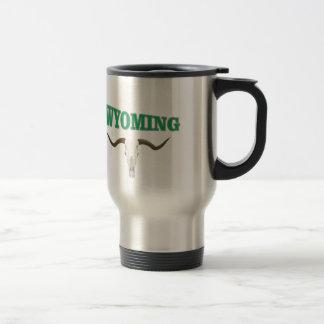 Mug De Voyage Crâne du Wyoming
