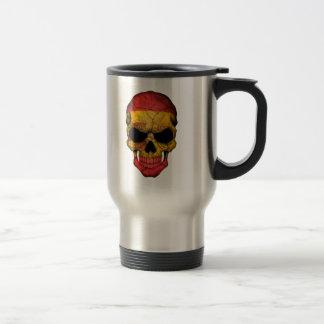 Mug De Voyage Crâne espagnol de drapeau