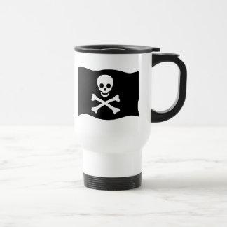 Mug De Voyage Crâne et os croisés