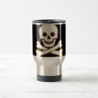 Mug De Voyage Crâne OR Jolly Roger