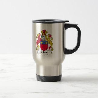Mug De Voyage Crête de famille de St John