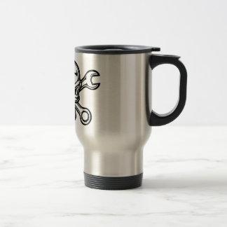 Mug De Voyage Croix-Clés de Chromeboy