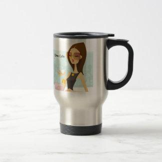 Mug De Voyage DAME LOGO, café de diva de diva