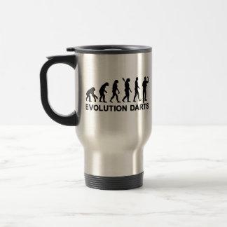 Mug De Voyage Dards d'évolution