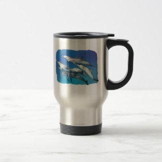 Mug De Voyage dauphin repéré sauvage