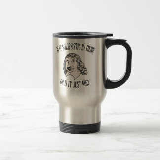 Mug De Voyage Descartes Solipsistic