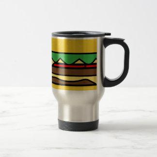Mug De Voyage Dessin d'hamburger
