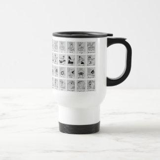 Mug De Voyage Diagramme LOONEY d'émotion de caractère de TUNES™