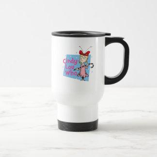 Mug De Voyage Dr. Seuss   Cindy-Lou qui - sucre de canne