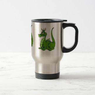 Mug De Voyage Dragon vert maladroit