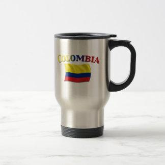 Mug De Voyage Drapeau colombien 2