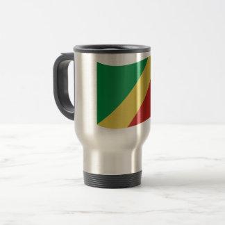 Mug De Voyage Drapeau de Congo-Brazzaville