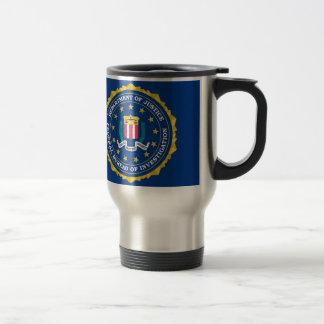 Mug De Voyage Drapeau de FBI