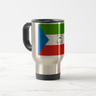 Mug De Voyage Drapeau de Guinée équatoriale