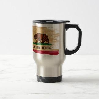 Mug De Voyage Drapeau de la Californie