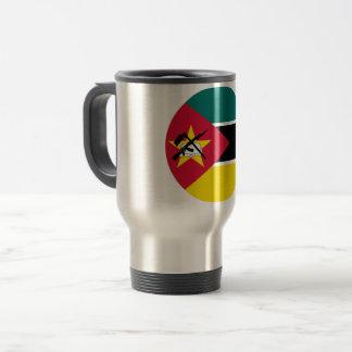 Mug De Voyage Drapeau de la Mozambique