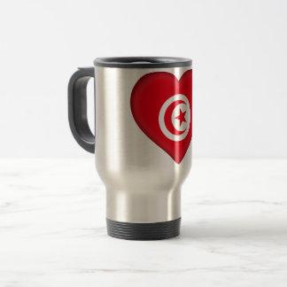 Mug De Voyage Drapeau de la Tunisie