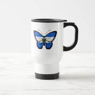 Mug De Voyage Drapeau de papillon du Salvador