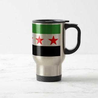 Mug De Voyage Drapeau de République de la Syrie