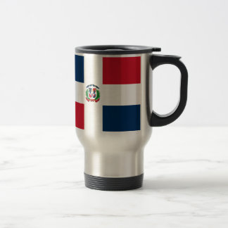 Mug De Voyage Drapeau dominicain