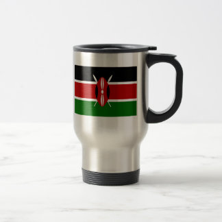 Mug De Voyage Drapeau du Kenya