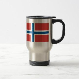 Mug De Voyage Drapeau norvégien