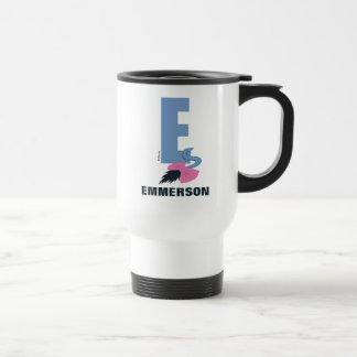 Mug De Voyage E est pour Eeyore | ajoutent votre nom