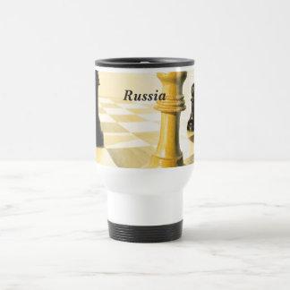 Mug De Voyage Échecs de la Russie