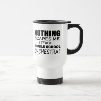 Mug De Voyage Enseignez le groupe scolaire moyen