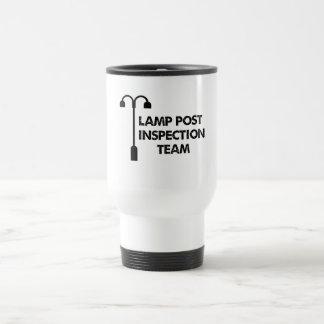 Mug De Voyage Équipe d'inspection de courrier de lampe
