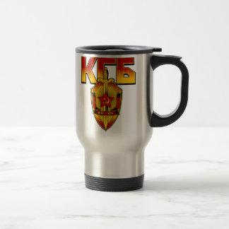 Mug De Voyage Ère russe de Soviétique d'insigne de KGB