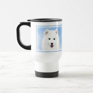 Mug De Voyage Étiquettes de chiot de Samoyed *