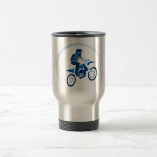 Mug De Voyage Faire du vélo de vecteur de cycliste de saleté