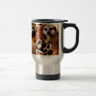 Mug De Voyage Famille de Meerkats