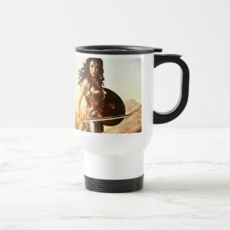 Mug De Voyage Femme de merveille au coucher du soleil