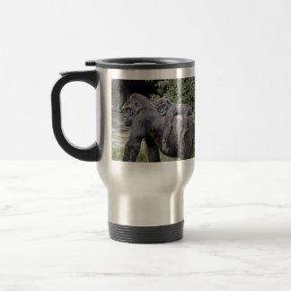 Mug De Voyage Ferroutage de bébé et de maman de gorille
