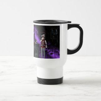 Mug De Voyage Filles gothiques Voo Doo allé mal