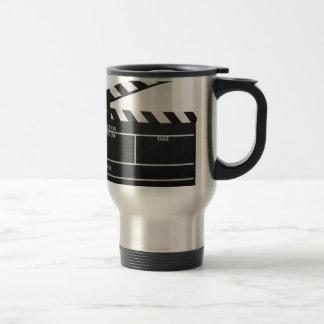 Mug De Voyage Film de clapet d'ardoise de film de bardeau