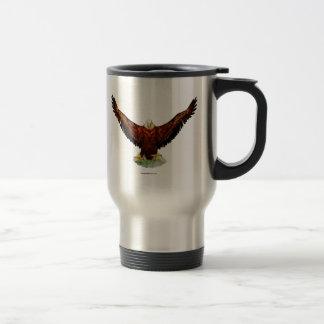 Mug De Voyage Flacon majestueux de café d'Eagle